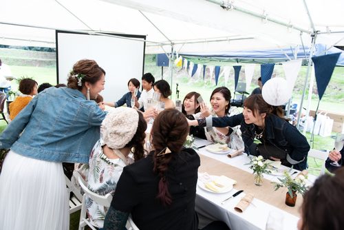東京 横浜 千葉 二部制ウエディング 2部制 結婚式 オリジナルウエディング 挙式は親族のみ フリープランナー
