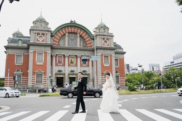 中央公会堂 結婚式 ウェディング レトロ建築 フォトウェディング 前撮り