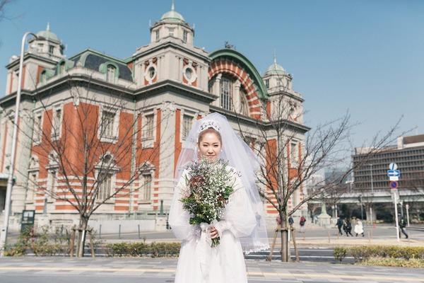 大阪市中央公会堂 レトロ建築ウェディング クラシカル 中之島公会堂 結婚式