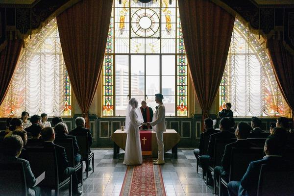 中央公会堂 結婚式 ウェディング レトロ建築 中之島公会堂