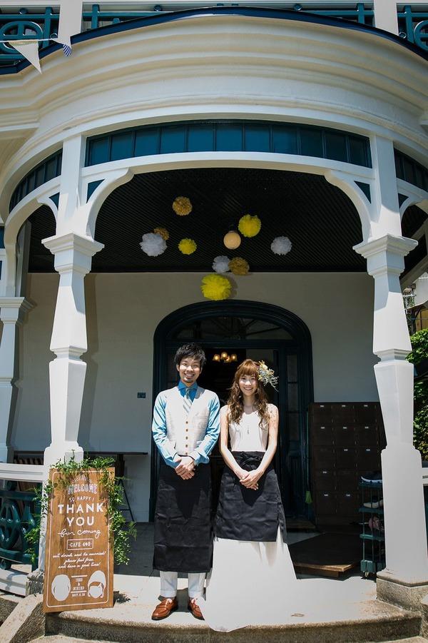 旧グッゲンハイム邸 結婚式 オリジナルウェディング 一軒家ウェディング ガーデンウェディング 手作り ブライダル カフェ.jpg