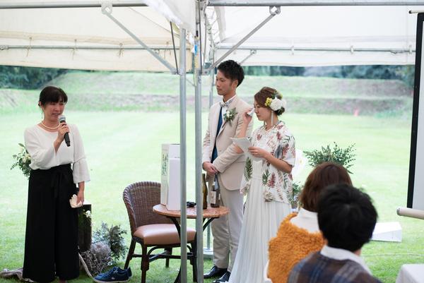アウトドアウエディング 東京 千葉 オリジナルウェディング リソル生命の森 ガーデン ナチュラル ラスティック