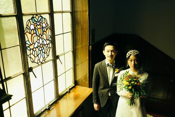 アメリカン 結婚式 オリジナルウェディング レトロ アパレル クラシカル.jpg