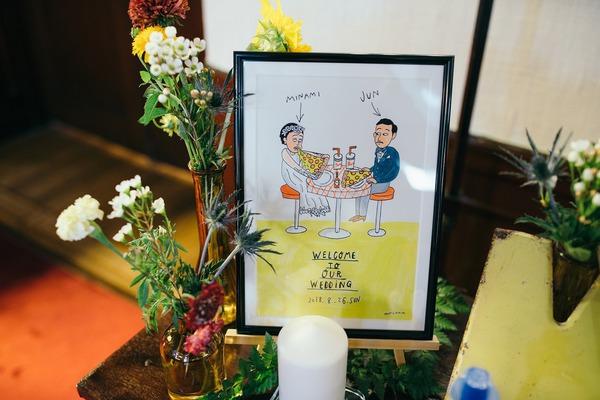 アメリカン 結婚式 オリジナルウェディング レトロ アパレル クラシカル.jpg.jpg