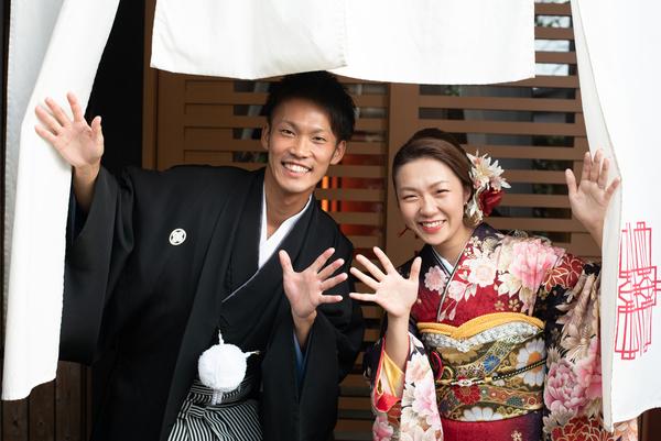 アウトドアウエディング 東京 千葉 オリジナルウェディング リソル 安房神社 神前式