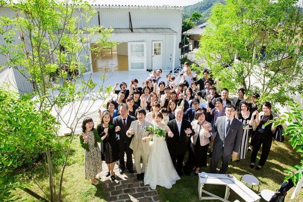オリジナルウエディング 大阪 クリーム 結婚式 コンセプトウエディング ウエディング wedding ガーデンウエディング