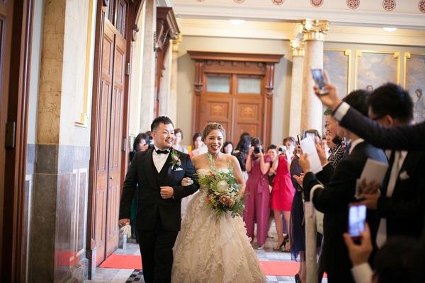 オリジナルウエディング 大阪 結婚式 レトロ レトロウエディング 中央公会堂 オリジナル結婚式 重要文化財