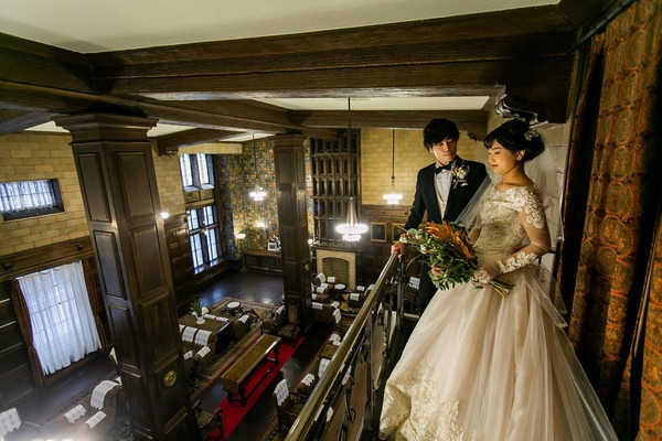綿業会館 結婚式 レトロウェディング クラシカルウェディング 重要文化財結婚式 オリジナルウェディング.jpg.jpg