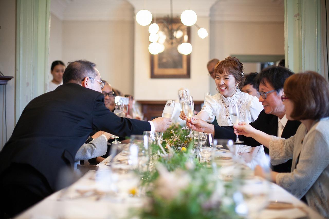 家族婚 少人数結婚式 親族会食 ロケフォト 前撮り フォトウェディング