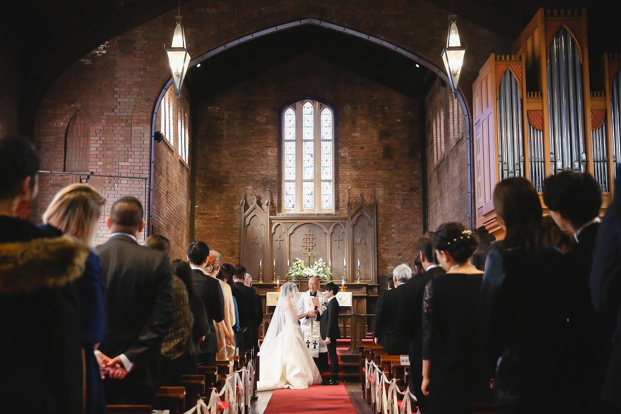 教会 結婚式 リキスト教式 大阪 本物の教会 川口教会