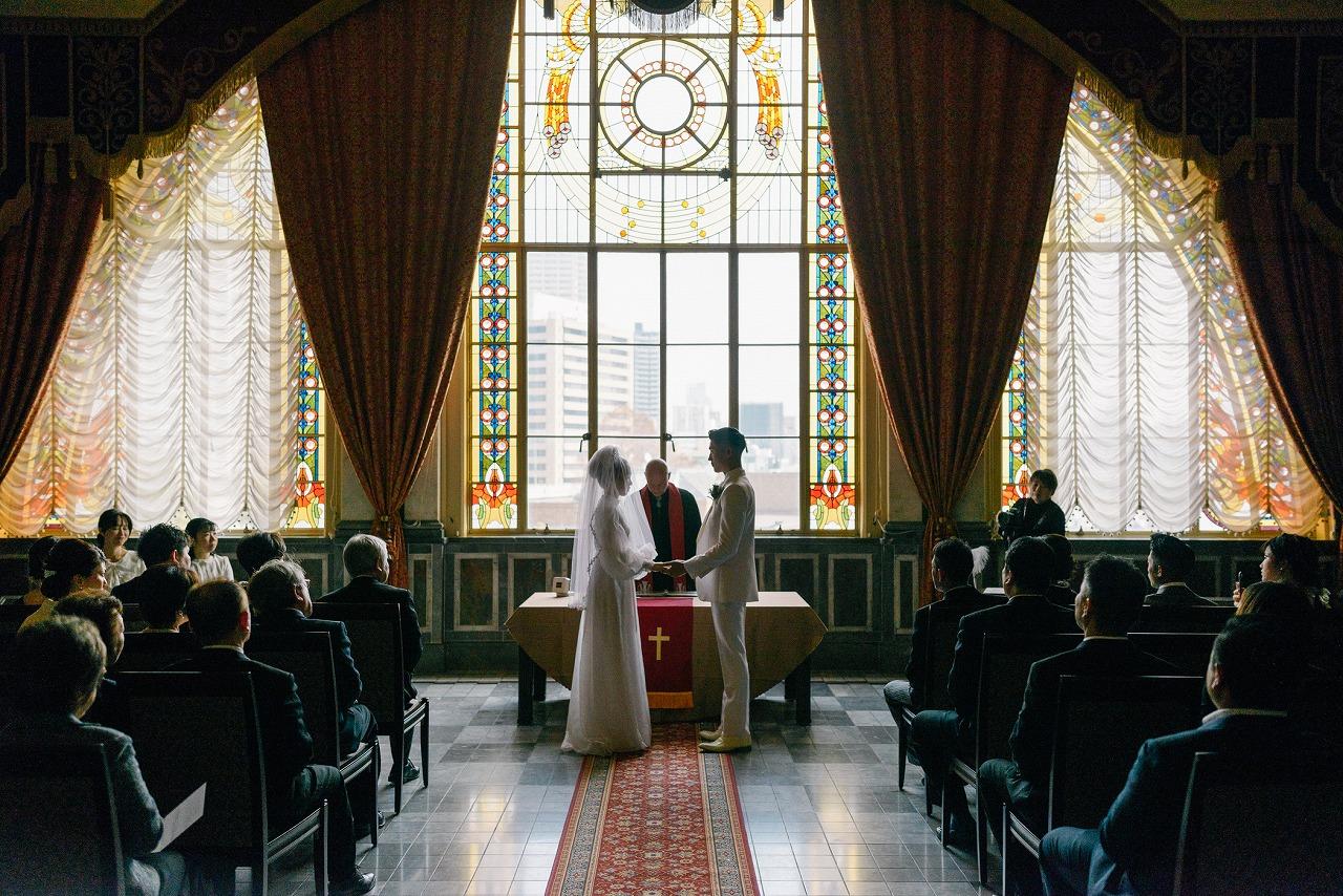 レトロウェディング 中央公会堂結婚式 中央公会堂ウェディング 綿業会館 大阪倶楽部