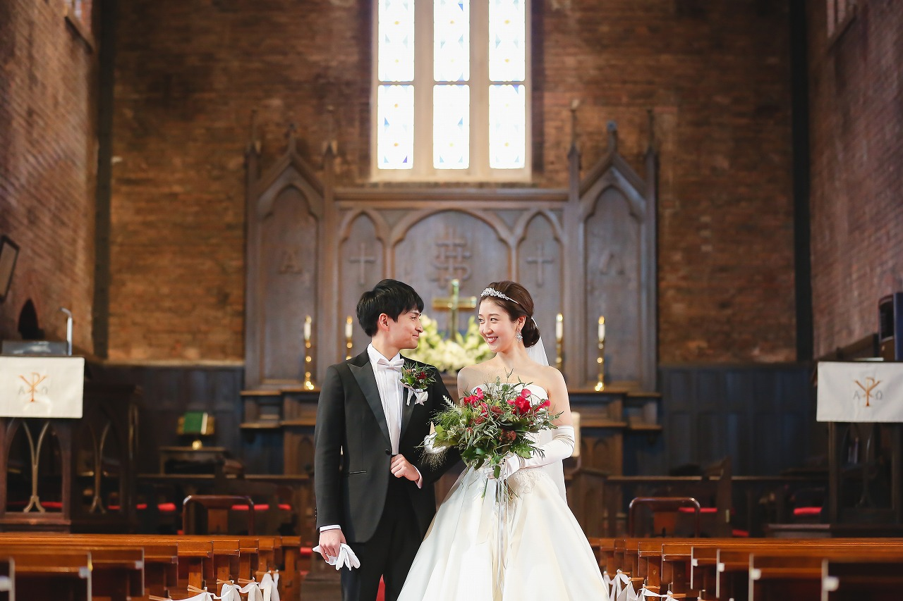 川口教会 綿業会館 オリジナルウェディング ウェディングプロデュース フリープランナー プロデュース会社 大阪 神戸 京都 結婚式