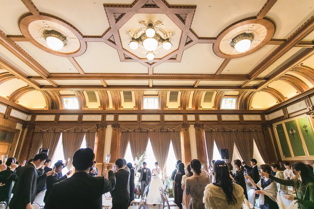 中央公会堂結婚式 中央公会堂ウェディング 中央公会堂プロデュース会社 オリジナルウェデイング レトロウェディング フリープランナー フリーランスプランナー オリジナルウェデイング ラスティックウェディング