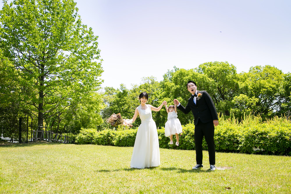 ガーデンウェディング大阪 アウトドアウェディング大阪 メイブーム結婚式