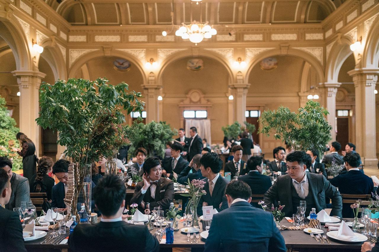 中央公会堂 オリジナルウェディング プロデュース会社 ウェディングプロデュース フリープランナー レトロ クラシカル 大阪 結婚式