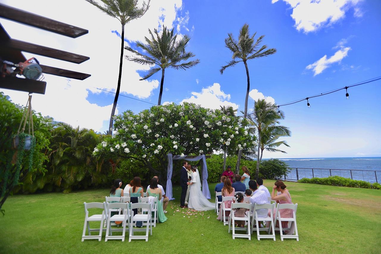 ハワイウェディング ハワイ邸宅ウェディング リゾートウェディング ハワイフォトウェディング ハレプナカイ