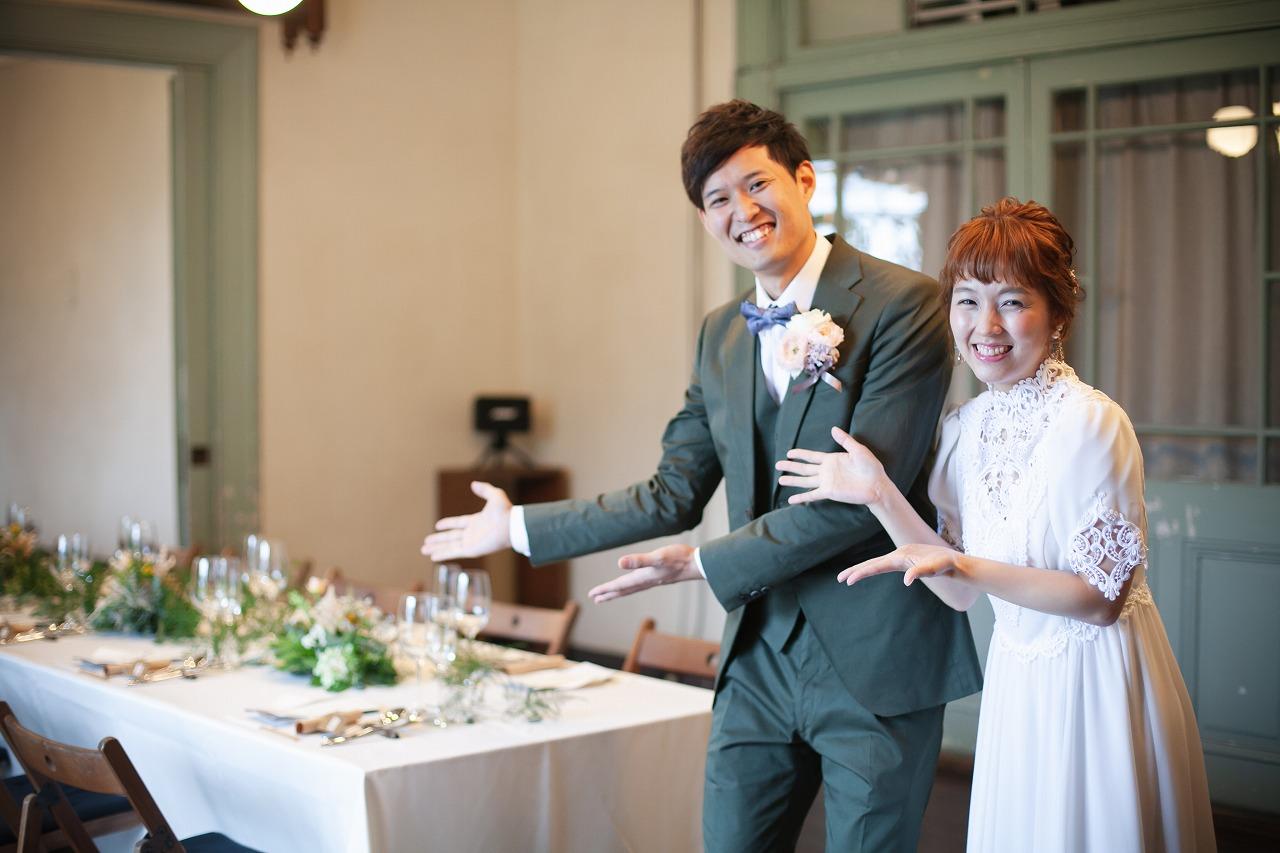 邸宅や洋館で家族婚