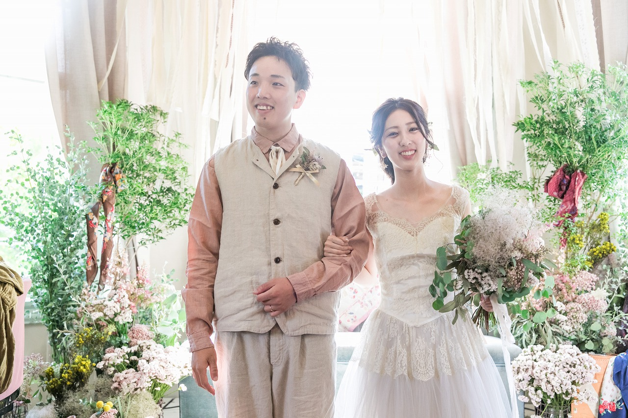 東京在住で大阪で結婚式を開催