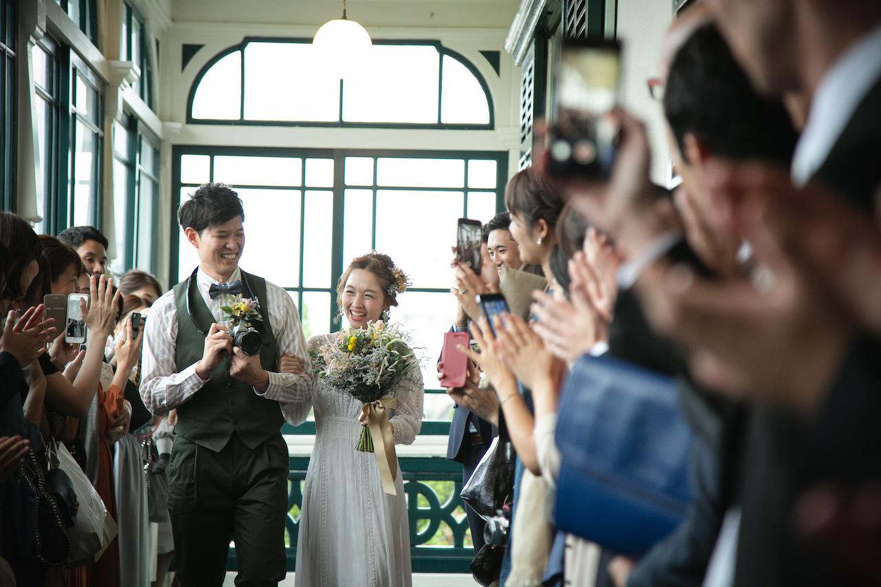地元に戻っての結婚式
