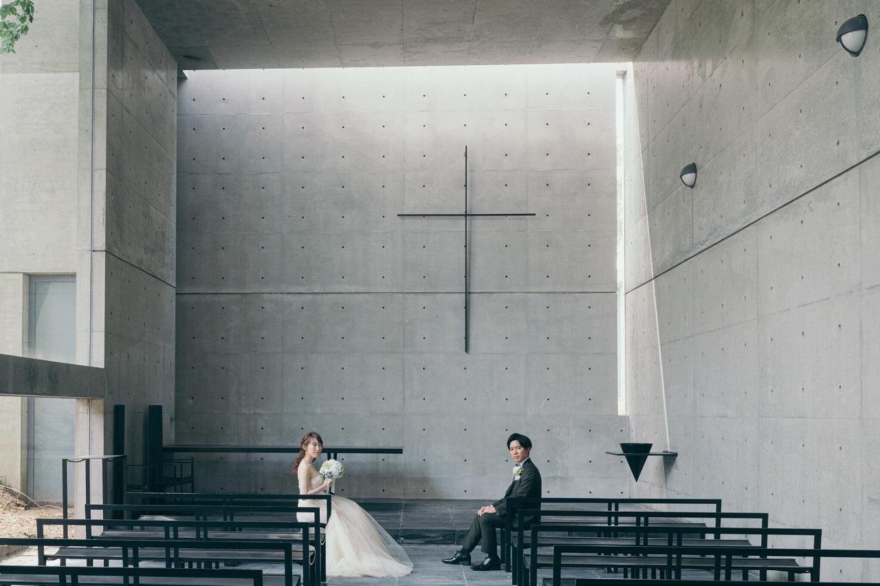 風の教会で結婚式