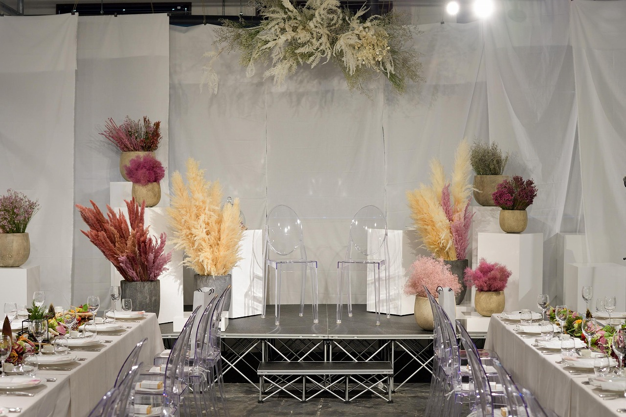 アクリルやクリアの結婚式手作りアイテム