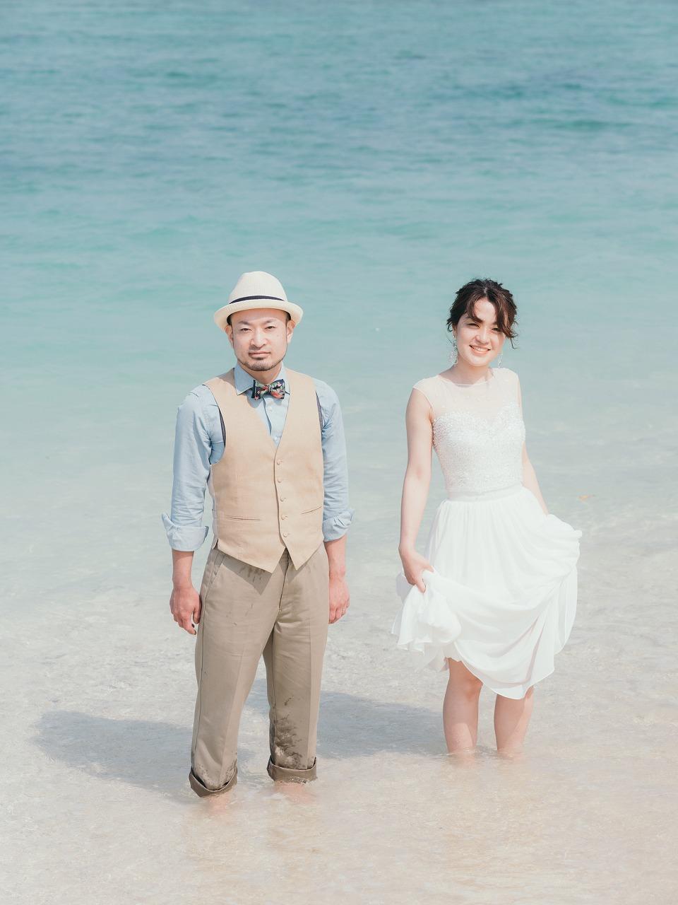 沖縄で前撮り